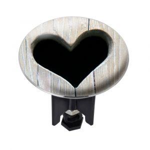 Wenko Bouchon d'évier Pluggy® XL Heart