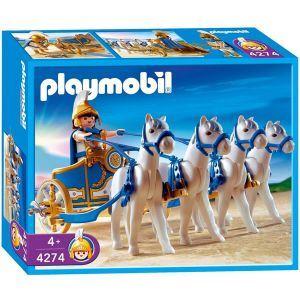 Playmobil 4274 - Cavalier Romain avec quadrige