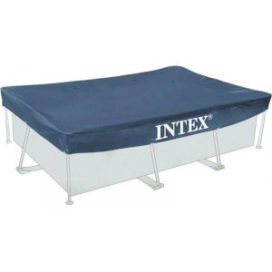 Intex Bâche de protection tubulaire rectangulaire 3,00 x 2,00 m