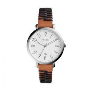 Fossil ES4208 - Montre pour femme avec bracelet en cuir