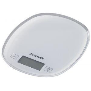 Brandt BCCURVE - Pèse-personne électronique 5 Kg
