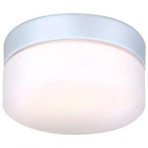Globo Lighting Lampe d'extérieur Globo VRANOS Argenté, Blanc, 1 lumière Moderne/Design Extérieur VRANOS
