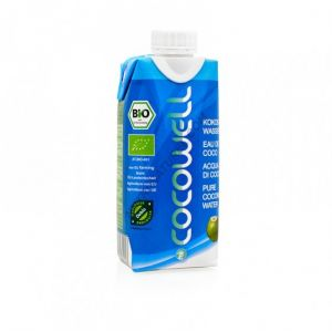 Image de Ecoidées Eau de Coco Pure Bio 330 mL