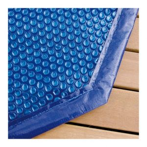 Ubbink Bàche à bulles pour piscine bois octogonale allongée Modèle - Azura 7,50 x 4,00m octogonale allongée