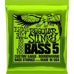 Ernie Ball Regular Slinky 5-string Bass Nickel Wound .045 - .130
