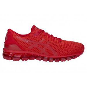 Asics Gel-Quantum 360 Knit 2, Chaussures de Running Compétition Homme, Multicolore Classic Red 602, 43.5 EU