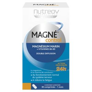 Nutreov Magné Control magnésium 3000 mg + vitamine B6 - 30 comprimés