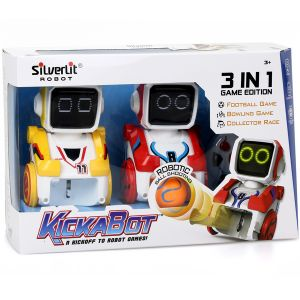 Silverlit Robot Kickabot bi-pack