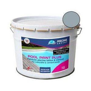 Piscine center o'clair Peinture piscine pool paint plus gris 10 l