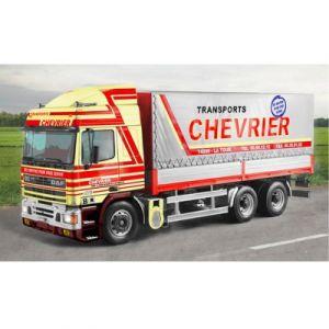 Italeri 3914 - Maquette camion DAF 95 Porteur Bâché