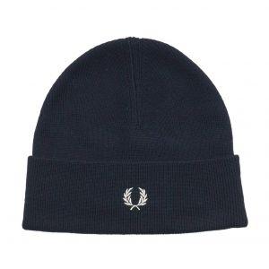 Fred Perry Merino Wool bonnet bleu