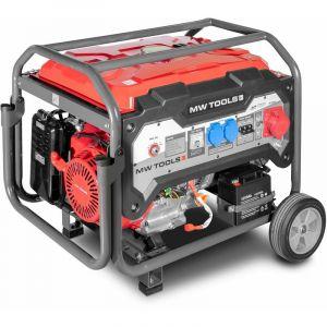Mw-tools Groupe électrogène essence 3x400V 6,5kW - démarrage électrique BG65ED