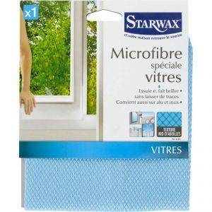 Starwax Lavette en microfibre spéciale vitres (32 x 36 cm)