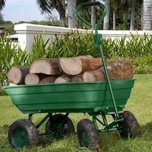 Chariot brouette multifonction de jardin