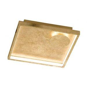 Millumine Applique ou Plafonnier LED Stylence Doré carré 1000 lm
