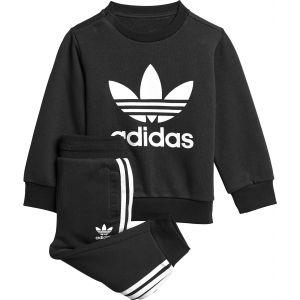 Adidas Ensemble jogging enfants, taille 104, enfant, noir