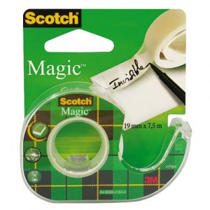 Scotch Magic 810 sur dévidoir 19 mm x 7.5 m Mat