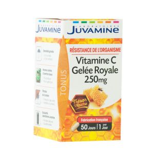 Juvamine Gelée Royale & Vitamine C - 50 gélules