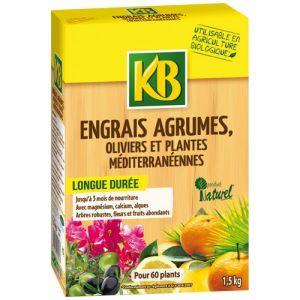 KB Engrais biologique agrumes granules 1.5Kg