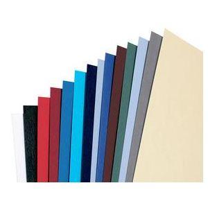 Image de GBC 100 couvertures pour reliure LeatherGrain format A5 (250 g)
