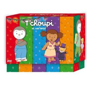 Coffret T'choupi et ses amis (interactif) - L'intégrale