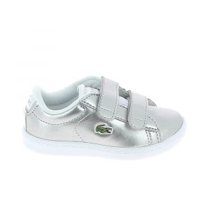 Lacoste Chaussure bebe carnaby evo 318 2 spi bb argent 26