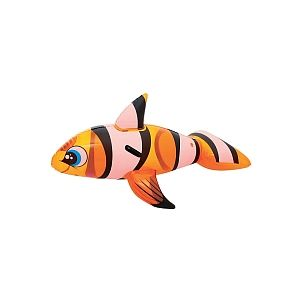Sizzlin Cool Animaux gonflables Poisson rouge L 150 cm