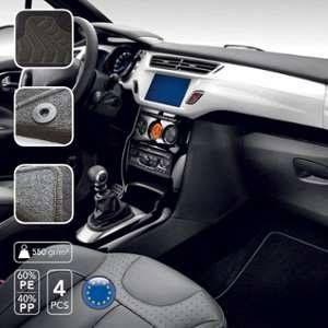 Sumex Tapis de sol moquette sur mesure Peugeot 208/2008 sup à 2012