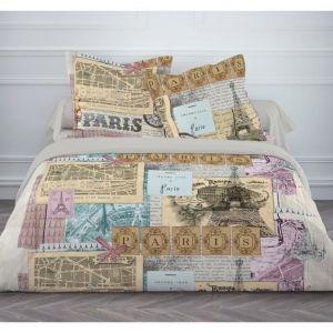 Today Paris Vintage - Housse de couette et 2 taies (220 x 240 cm)