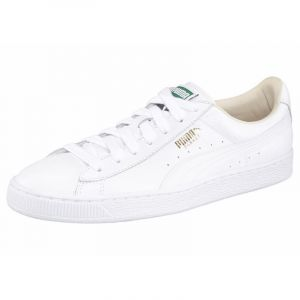 Puma Classic LFS, Baskets Basses Mixte Adulte,Blanc (White/White 17), 37
