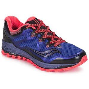 Saucony Chaussures Trail Peregrine 8 Blue black vizired