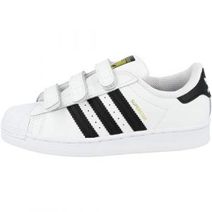 Adidas Superstar CF C, Basket Mixte Enfant, FTWR White/Core Black/FTWR White, 31 EU