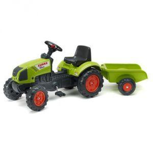Falk Tracteur Claas Arion 410 avec remorque