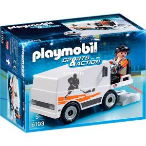 Playmobil 6193 Sports & Action - Agent d'entretien et surfaceuses