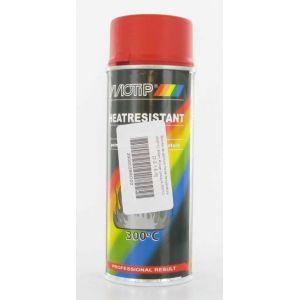 Motip Bombe de peinture rouge haute température M04040 400 ml