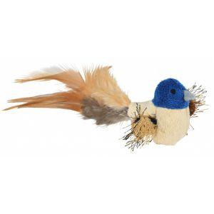 Trixie Oiseau À Plumes Et Catnip, Peluche, 8Cm