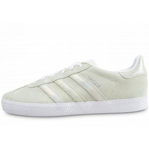 Adidas Gazelle Vert Et Iridescent Baskets/Tennis Enfant