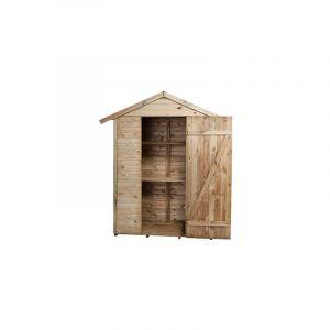 M&S Cabane de jardin avec étagères 193x83x220 cm