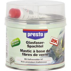 Presto Mastic fibre de verre avec durcisseur 1 kg