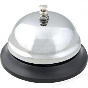 Wedo 62 4401 - Sonnette de comptoir, avec socle en métal noir