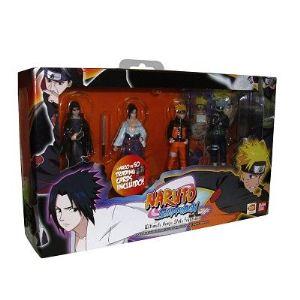 Bandai Set de 4 figurines Naruto Ultimate Ninja Style