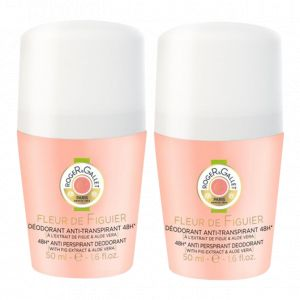 Roger & Gallet Fleur de Figuier - 2 déodorants Roll-On