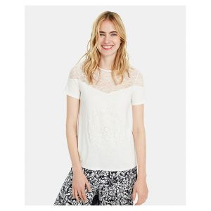 Desigual T-shirts Cannes - White - XL