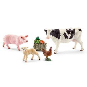 Schleich 41424 - Mes premiers animaux de la ferme