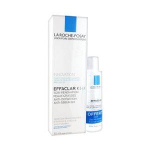 La Roche-Posay Effaclar K+ 30ml + Effaclar eau micellaire purifiante 50ml Offerte