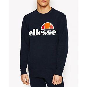 ELLESSE Succiso SHS01148 Sweatshirt pour Homme XL Bleu