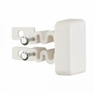 Legrand Embout de finition pour moulure électrique - 20x12,5mm - blanc - DLPlus