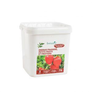Engrais fraisiers, petits fruits & arbres fruitiers 3 kg botanic®