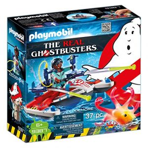 Playmobil 9387 - Ghostbusters : Zeddemore avec scooter des mers