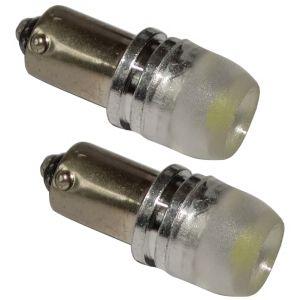 Aerzetix : 2x ampoule T4W T5W BA9s 12V LED HIGH POWER 1.5W blanc effet xénon éclairage intérieur plaque d'immatriculation seuils de porte plafonnier pieds lecteur de carte coffre compartiment moteur